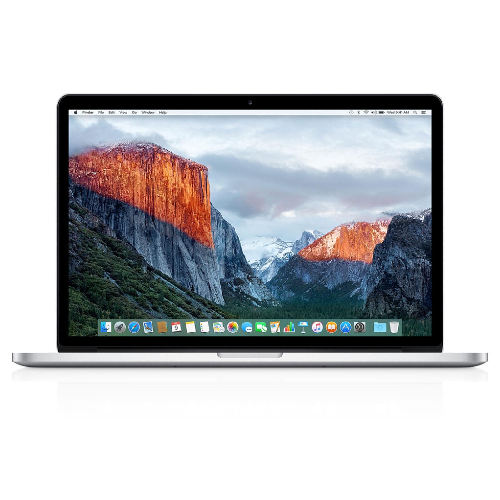 """Apple MacBook Pro 15 4"""" Retina 2 2 GHz i7 16GB 256GB SSD FJLQ2D A Apple certified"""