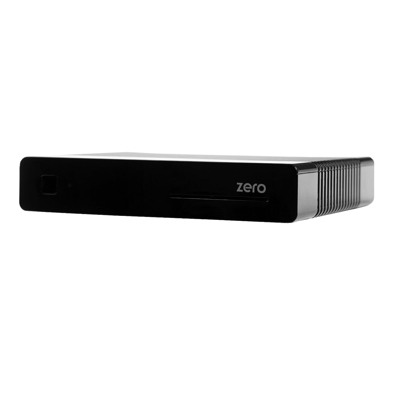 VU Plus Zero Linux HbbTV Full HD Sat Receiver Schwarz